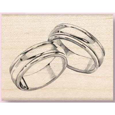 "Штамп ""Wedding Rings"""