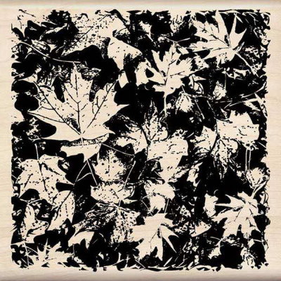 "Штамп ""Leaves Pattern"""