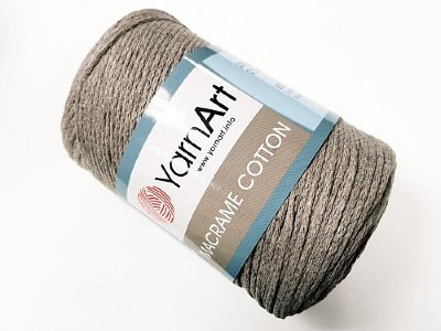 Макраме Коттон (Macrame Cotton YarnArt) цвет лён